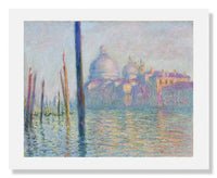 MFA Prints archival replica print of Claude Monet, Grand Canal, Venice from the Museum of Fine Arts, Boston collection.