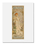 MFA Prints archival replica print of Alphonse Maria Mucha, La Dame aux Camelias/ Sarah Bernhardt/ Theatre de la Renaissance from the Museum of Fine Arts, Boston collection.