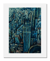 Max Weber, New York (The Liberty Tower from the Singer Building)