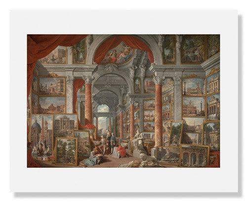 Giovanni Paolo Pannini, Picture Gallery with Views of Modern Rome