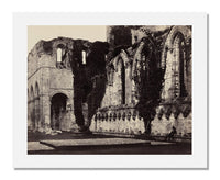 MFA Prints archival replica print of Roger Fenton, Interior: Fountains Abbey from the Museum of Fine Arts, Boston collection.