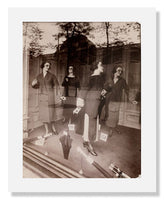 MFA Prints archival replica print of Jean Eugène Auguste Atget, Window Display Mannequins from the Museum of Fine Arts, Boston collection.