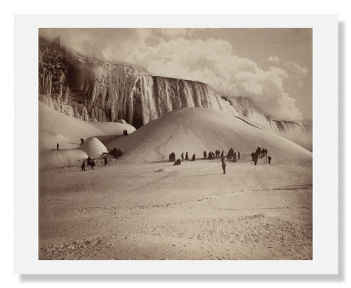 MFA Prints archival replica print of Herman F. Nielson, Frozen Niagara Falls from the Museum of Fine Arts, Boston collection.