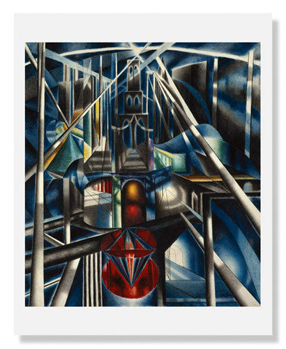 Joseph Stella, Old Brooklyn Bridge
