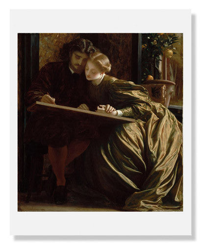 MFA Prints archival replica print of Lord Frederic Leighton, Painter's Honeymoon from the Museum of Fine Arts, Boston collection.