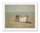 Charles Edwin Lewis Green, Winter Dory, King's Beach, Swampscott, Massachusetts