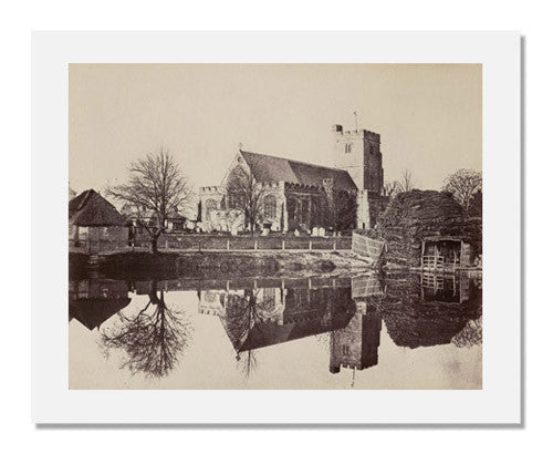 "Benjamin Brecknell Turner, Hawkhurst Church (""Photographic Truth"")"