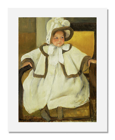 Mary Stevenson Cassatt, Ellen Mary in a White Coat