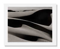 MFA Prints archival replica print of Edward Weston, Sand Dunes, Oceano, California 1936 from the Museum of Fine Arts, Boston collection.