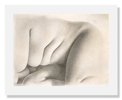 MFA Prints archival replica print of Charles Sheeler, Nude from the Museum of Fine Arts, Boston collection.