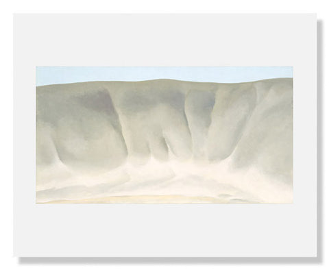 Georgia O'Keeffe, Grey Wash Forms