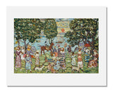 MFA Prints archival replica print of Maurice Brazil Prendergast, Sunset from the Museum of Fine Arts, Boston collection.