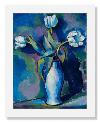 Charles Sheeler, Three White Tulips