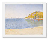 MFA Prints archival replica print of Paul Signac, Port of Saint Cast from the Museum of Fine Arts, Boston collection.