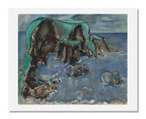 MFA Prints archival replica print of Max Weber, Pacific Coast from the Museum of Fine Arts, Boston collection.