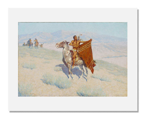 Frederic Remington, The Blanket Signal
