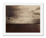Gustave Le Gray,Cloudy Sky The Mediterranean with Mount Agde
