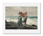 MFA Prints archival replica print of Winslow Homer, A Fresh Breeze from the Museum of Fine Arts, Boston collection.