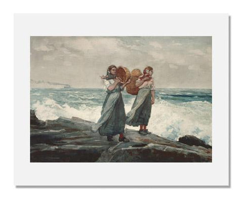 Winslow Homer, A Fresh Breeze