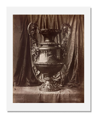 MFA Prints archival replica print of Louis Rémy Robert, Sevres Vase from the Museum of Fine Arts, Boston collection.