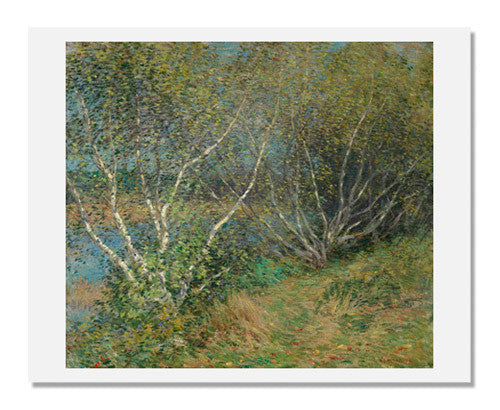 MFA Prints archival replica print of Willard Leroy Metcalf, The Birches from the Museum of Fine Arts, Boston collection.