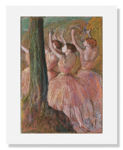 Edgar Degas,  Dancers in Rose
