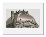MFA Prints archival replica print of Édouard Denis Baldus, Roof, Pavillon Sully, Louvre from the Museum of Fine Arts, Boston collection.