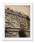 MFA Prints archival replica print of Désiré Charnay, Palace of the Governor, Uxmal, Mexico from the Museum of Fine Arts, Boston collection.