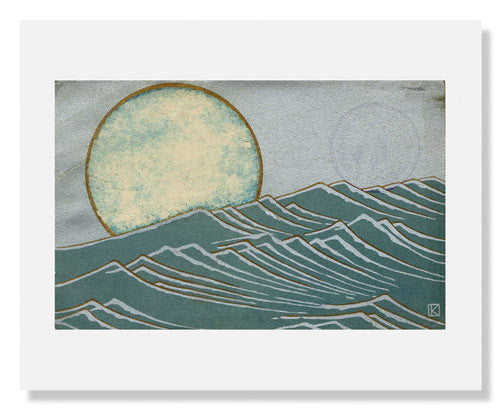 Moon and Waves