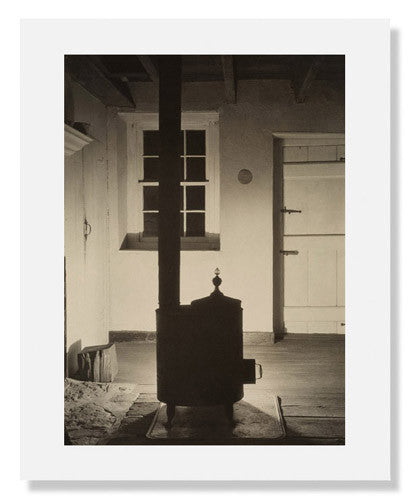 Charles Sheeler, Doylestown House-The Stove