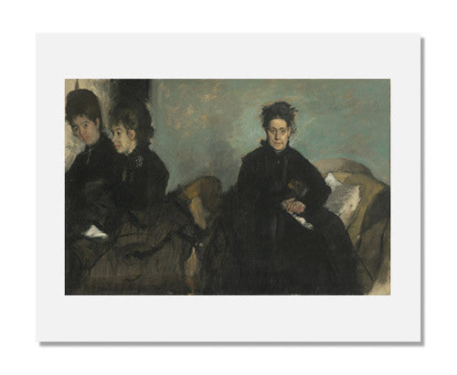 Edgar Degas, Duchessa di Montejasi with Her Daughters, Elena and Camilla