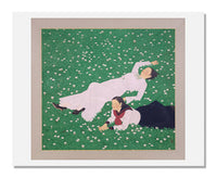 MFA Prints archival replica print of Tateishi Harumi, Clover from the Museum of Fine Arts, Boston collection.