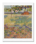 MFA Prints archival replica print of Robert William Vonnoh, Springtime in France from the Museum of Fine Arts, Boston collection.