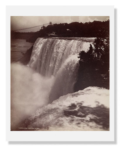 MFA Prints archival replica print of George Barker, Niagara Falls from the Museum of Fine Arts, Boston collection.