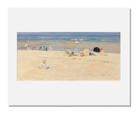 MFA Prints archival replica print of Elizabeth Wentworth Roberts, The Beach Afternoon from the Museum of Fine Arts, Boston collection.