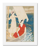 MFA Prints archival replica print of Miki Suizan, Fair Wind (Junpu) from the Museum of Fine Arts, Boston collection.