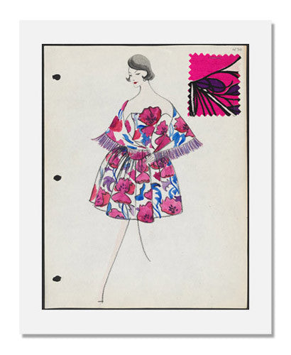 Arnold Scaasi, Sketch book   Spring 1961
