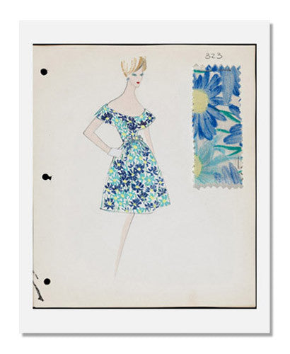 Arnold Scaasi, Sketch book   Summer 1962
