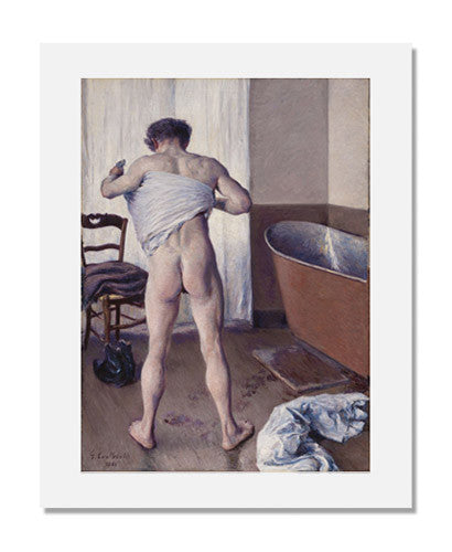 Gustave Caillebotte, Man at His Bath