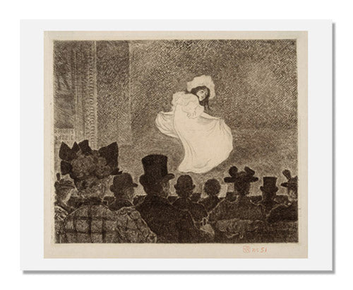 MFA Prints archival replica print of Theodore van Rysselberghe, Café-concert from the Museum of Fine Arts, Boston collection.
