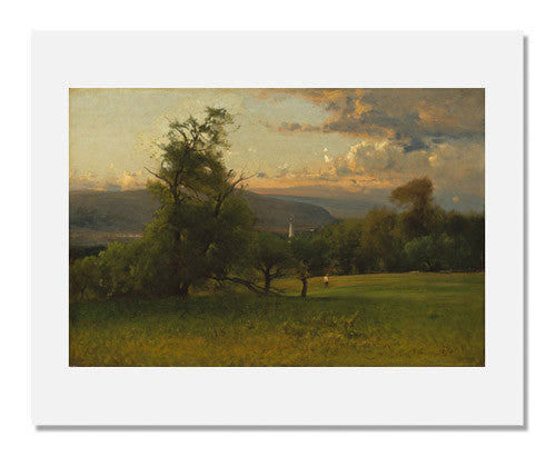 George Inness, The Church Spire