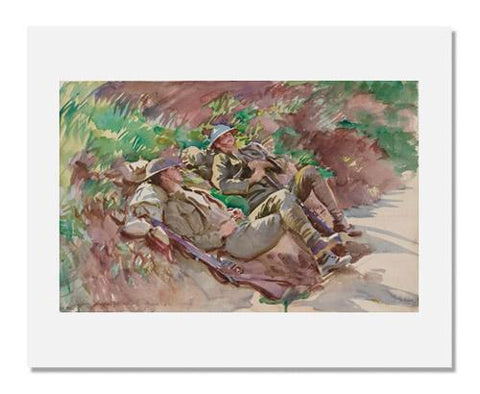 John Singer Sargent, Poperinghe: Two Soldiers