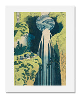Katsushika Hokusai, The Amida Falls in the Far Reaches of the Kiso Road, from the series A Tour of Waterfalls in Various Provinces