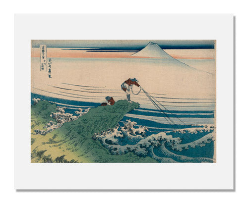Katsushika Hokusai, Kajikazawa in Kai Province, from the series Thirty-six Views of Mount Fuji