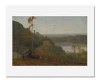 MFA Prints archival replica print of George Inness, Lake Nemi from the Museum of Fine Arts, Boston collection.