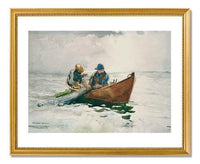 MFA Prints archival replica print of Winslow Homer, The Dory from the Museum of Fine Arts, Boston collection.