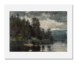 MFA Prints archival replica print of Winslow Homer, Adirondack Lake from the Museum of Fine Arts, Boston collection.