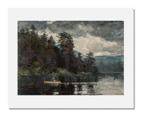 Winslow Homer, Adirondack Lake