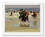 MFA Prints archival replica print of Edward Henry Potthast, At the Seaside from the Museum of Fine Arts, Boston collection.