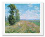 MFA Prints archival replica print of Claude Monet, Meadow with Poplars from the Museum of Fine Arts, Boston collection.